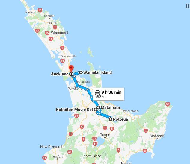 Calatorie in Noua Zeelanda